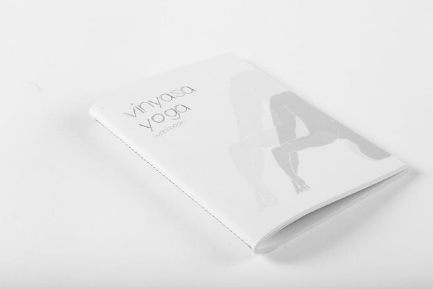 Yoga Workbook - Vinyasa Yoga - book cover front | Eco Yoga Store