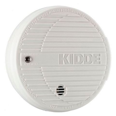 Kidde PE9E Smoke Detector, 9V Battery Powered Photoelectric