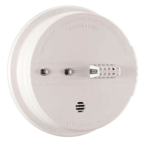 Kidde HD135F Heat Detector, 120V Hardwired 135 Degrees w/9V Battery Backup