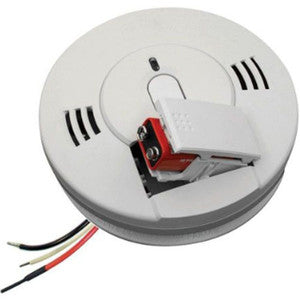 Kidde KN-COPE-I Carbon Monoxide & Smoke Detector, 120V Photoelectric Hardwired Talking w/Battery Backup