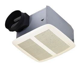 Broan-Nutone QTXEN080 Ultra Silent Bath Fan, White Grille ,80 CFM. Energy Star® Qualified.