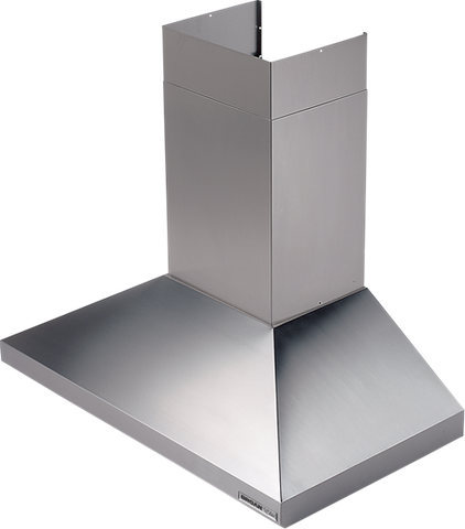 "Broan-Nutone 619004 35-7/16"" (90cm) , Stainless Steel , Chimney Hood,  Internal Blower, 450 CFM."