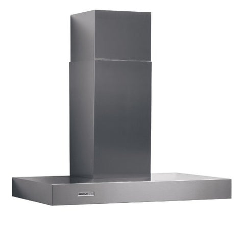 "Broan-Nutone RM533604 36"", Stainless Steel, Chimney Hood, Internal Blower, 370 CFM"
