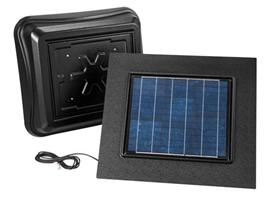 Broan-Nutone 345RSOBK BROAN SOLAR POWERED ATTIC VENTILATOR REMOTE MOUNT BLACK