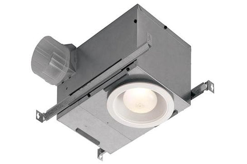 Broan-Nutone 744LED BROAN RECESSED FAN/LED LIGHT 70CFM 1.5 SONES