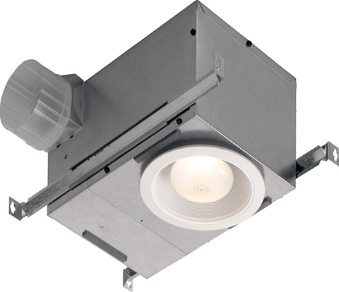 Broan-Nutone 744 Fan/Light, Recessed, 75 Watt Bulb R30 or BR30, 70 CFM.