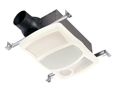 Broan-Nutone 765HL Heater/Fan/Light, 100 Watt Incandescent Light,  1500 Watt Heater, 20 amp., 100 CFM.
