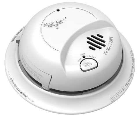 brk 9120lbl smoke alarm hard wired w lithium battery backup in locked drawer ionization