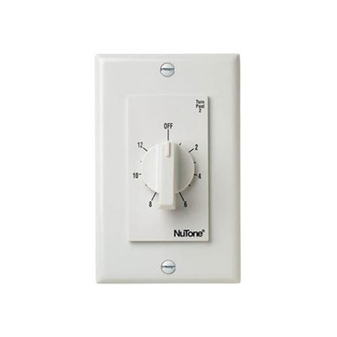 Broan-Nutone CFT12WH 12-Hour Timer (White).