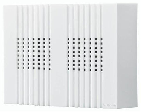 Broan-Nutone LA126WH Chime, White 2 Note