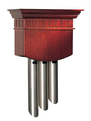 Broan-Nutone LA310CY Chime, Cherry Cover with Satin Nickel Chambers (Eight-note, Four-note and Single-note Chimes)