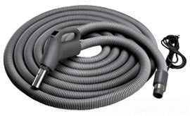Broan-Nutone CH515 Central Vacuum Current-Carrying Crushproof Hose — 30' .