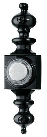 Broan-Nutone PB4LBL Door Chime Pushbutton, lighted in black