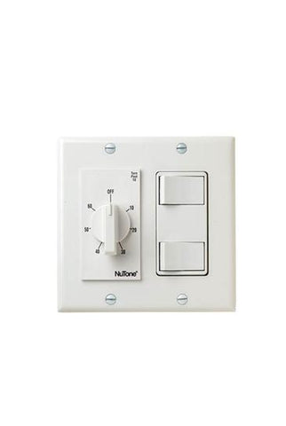 Broan-Nutone VS67WH 60 Min. Timer/2 On/Off Switches (White)