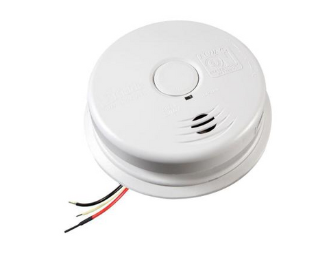 Kidde i12010S Smoke Detector, 120V 10-Year Worry-Free AC/DC Sealed Lithium Wire-In w/Battery Back-Up