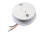 Kidde i12010SCO Carbon Monoxide & Smoke Detector, 120V 10-Year Worry-Free AC/DC Sealed Lithium Wire-In w/Battery Back-Up