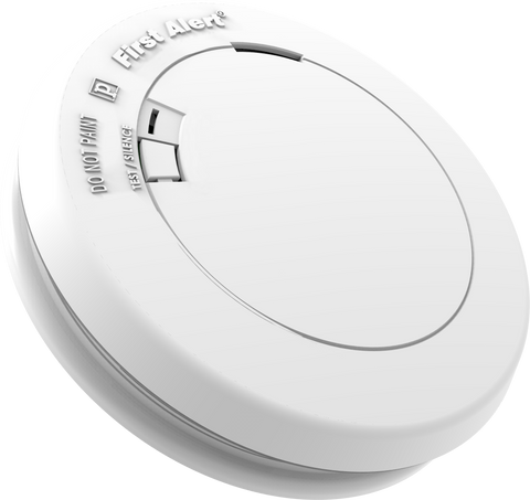 brk pr700b smoke alarm carbon zinc battery operated low profile photoelectric