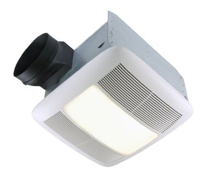 Broan-Nutone QTXEN110FLT Ultra Silent Series, Fan/Light, 42W Fluorescent Light, 4W Night Light, 110 CFM, Energy Star® Qualified.