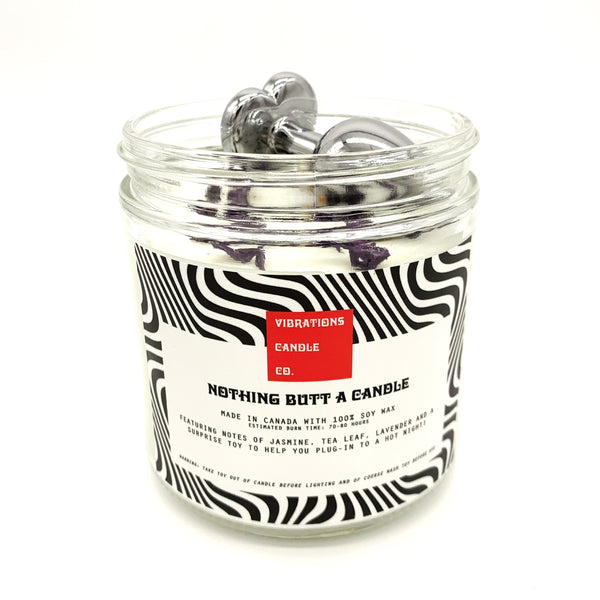 Vibrations Candle Co. Nothing Butt a Candle - Intamo Pleasurables