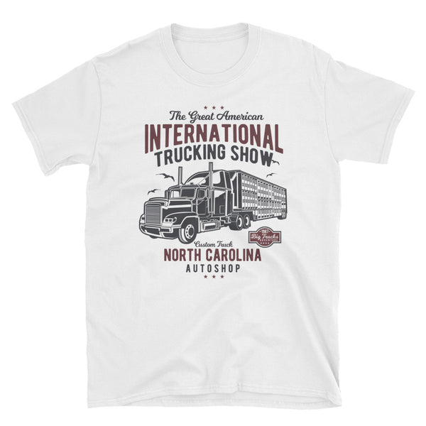 Big Truck Short-Sleeve Unisex T-Shirt - Dynamic Clothing Box