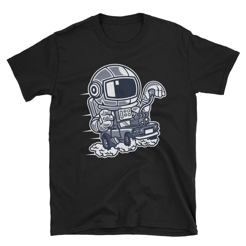 Space Racer Short-Sleeve Unisex T-Shirt - Dynamic Clothing Box