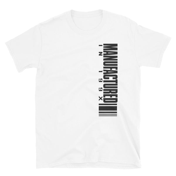 Manufactured In 199X Short-Sleeve Unisex T-Shirt