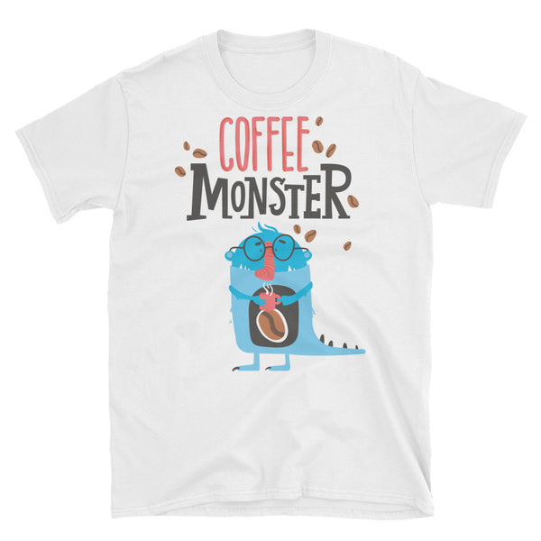 Coffee Monster Short-Sleeve Unisex T-Shirt - Dynamic Clothing Box