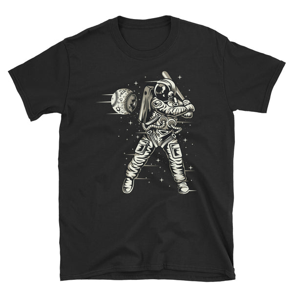 Space Baseball Short-Sleeve Unisex T-Shirt - Dynamic Clothing Box