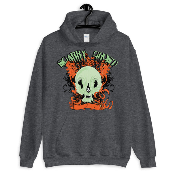 Scary Ghost Unisex Hoodie - Dynamic Clothing Box