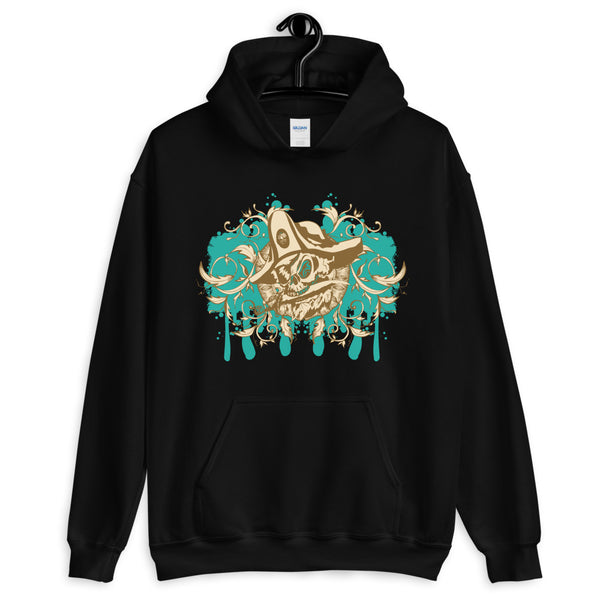 Pirate Skull Unisex Hoodie - Dynamic Clothing Box