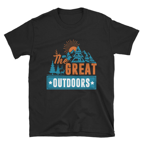 The Great Outdoors Short-Sleeve Unisex T-Shirt - Dynamic Clothing Box