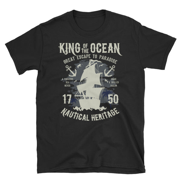 King Of The Ocean Short-Sleeve Unisex T-Shirt - Dynamic Clothing Box
