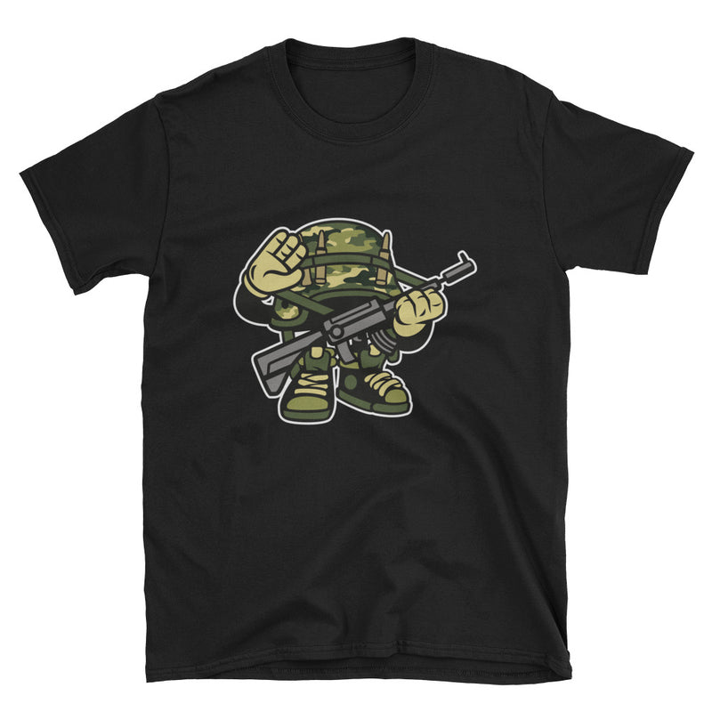 Soldier Short-Sleeve Unisex T-Shirt - Dynamic Clothing Box