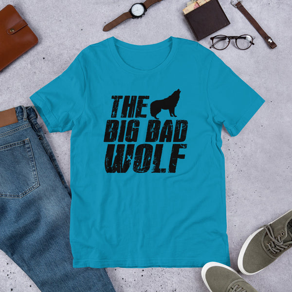 The Big Bad Wolf Premium Short-Sleeve Unisex T-Shirt