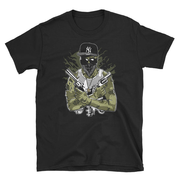Gangsta Zombie Short-Sleeve Unisex T-Shirt - Dynamic Clothing Box