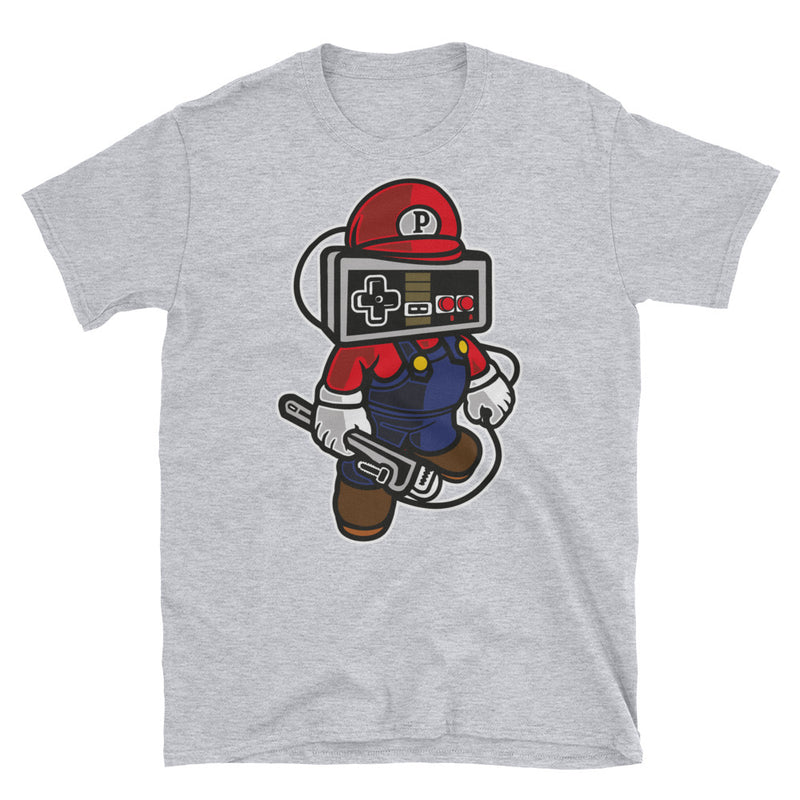 Player Head Short-Sleeve Unisex T-Shirt - Dynamic Clothing Box