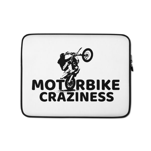 Motorbike Craziness Laptop Sleeve