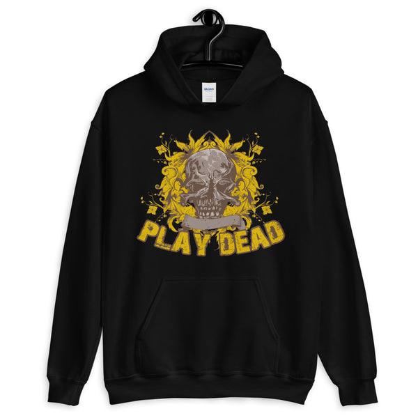 Play Dead Unisex Hoodie - Dynamic Clothing Box