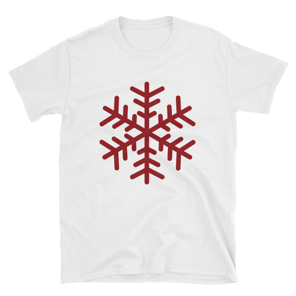 Snowflake Short-Sleeve Unisex T-Shirt - Dynamic Clothing Box