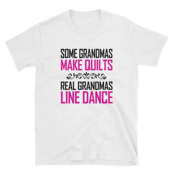 Real Grandmas Line Dance Short-Sleeve Unisex T-Shirt - Dynamic Clothing Box