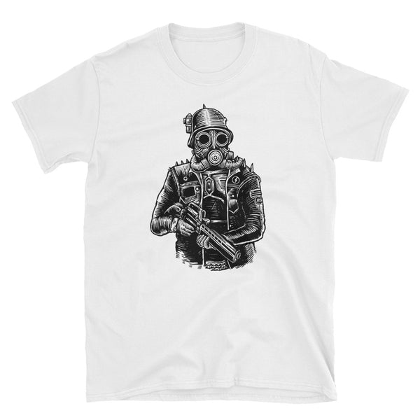 Steampunk Soldier Short-Sleeve Unisex T-Shirt - Dynamic Clothing Box