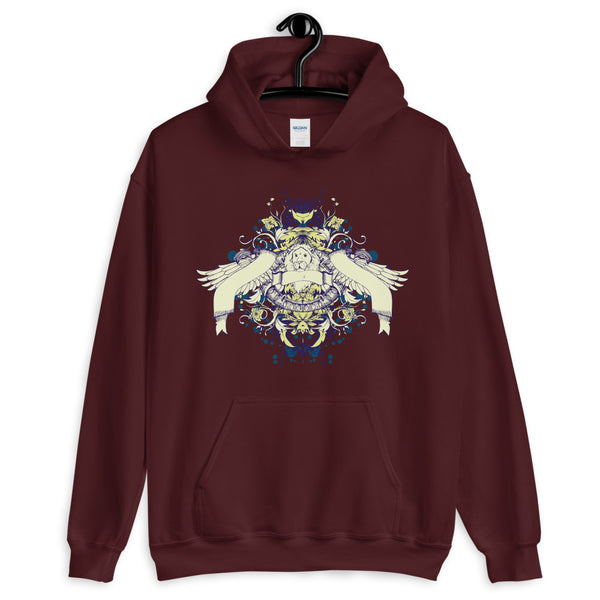 Lion With Wings Unisex Hoodie - Dynamic Clothing Box