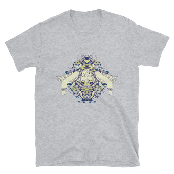 Lion With Wings Short-Sleeve Unisex T-Shirt - Dynamic Clothing Box