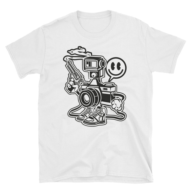 Shooter Short-Sleeve Unisex T-Shirt - Dynamic Clothing Box