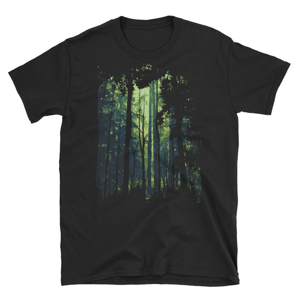 Green Forest Short-Sleeve Unisex T-Shirt - Dynamic Clothing Box