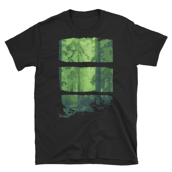 Forest Short-Sleeve Unisex T-Shirt - Dynamic Clothing Box