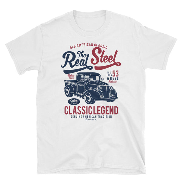 The Real Steel Short-Sleeve Unisex T-Shirt - Dynamic Clothing Box