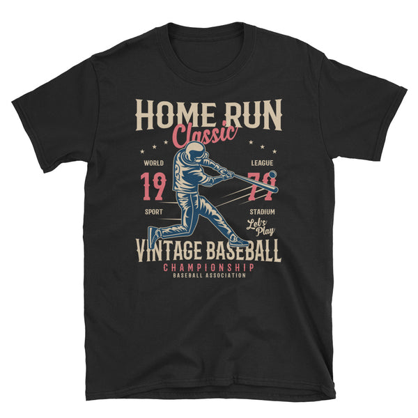 Home Run Classic Short-Sleeve Unisex T-Shirt - Dynamic Clothing Box