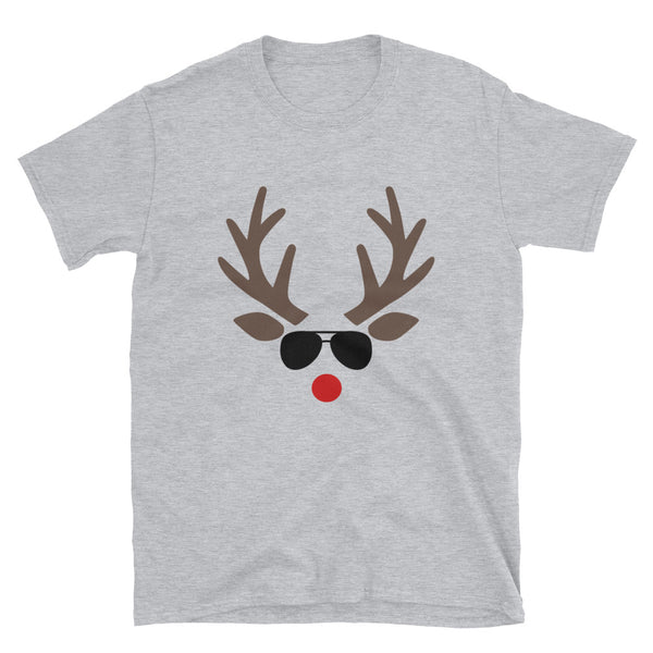 Reindeer Short-Sleeve Unisex T-Shirt - Dynamic Clothing Box