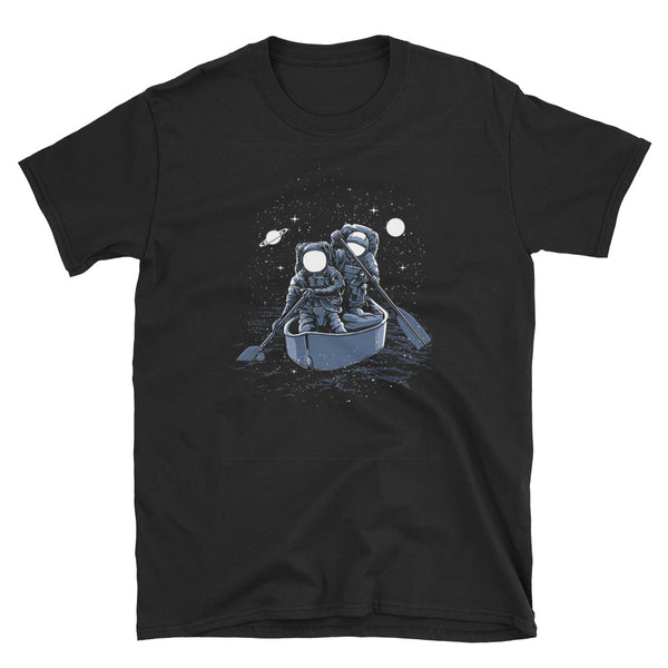 Across The Galaxy Short-Sleeve Unisex T-Shirt - Dynamic Clothing Box
